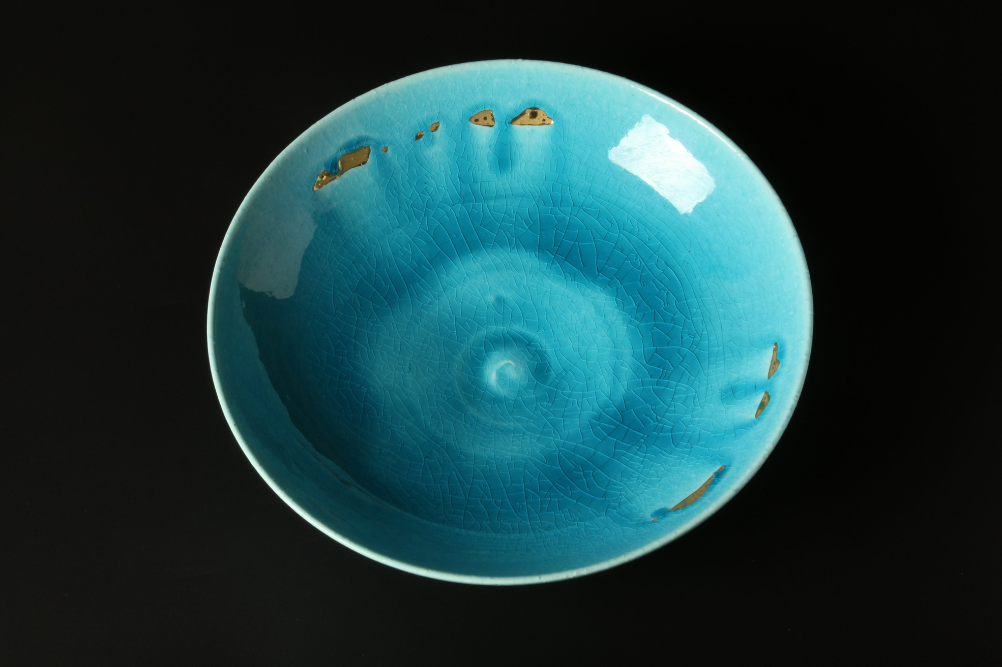 Photo of Turquoise blue plate