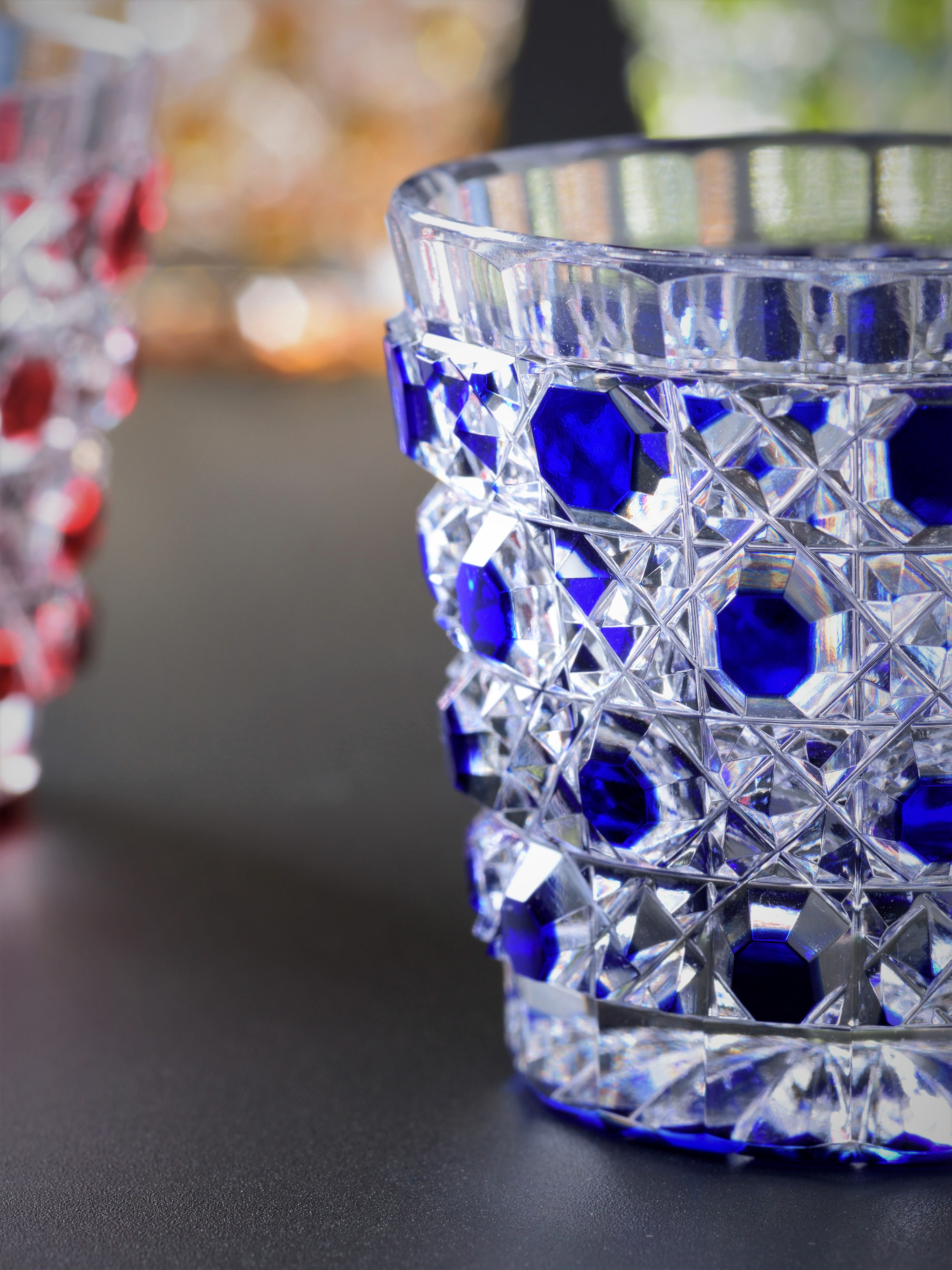Picture of blue glass