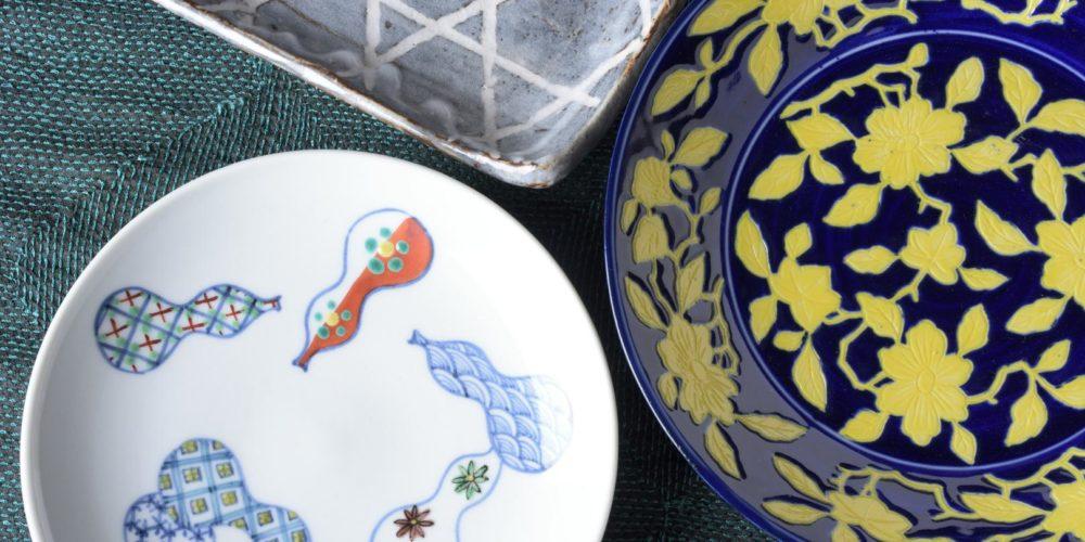 Photo of variety of Japanese porcelain