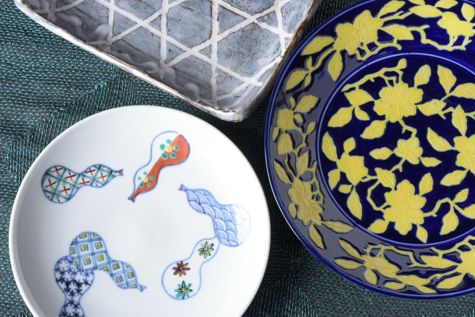 Variety of Japanese porcelain