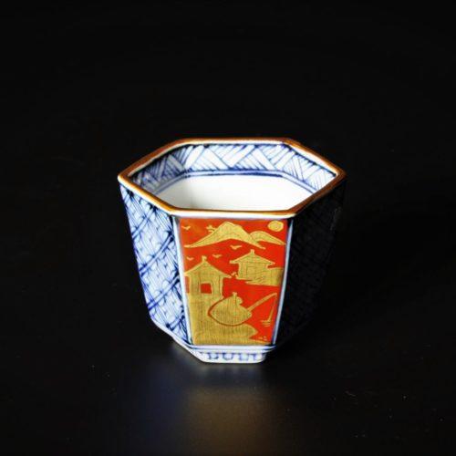 Image of about Tokodo, Kiyomizu-ware_Sake cup_hexagon 陶香堂について
