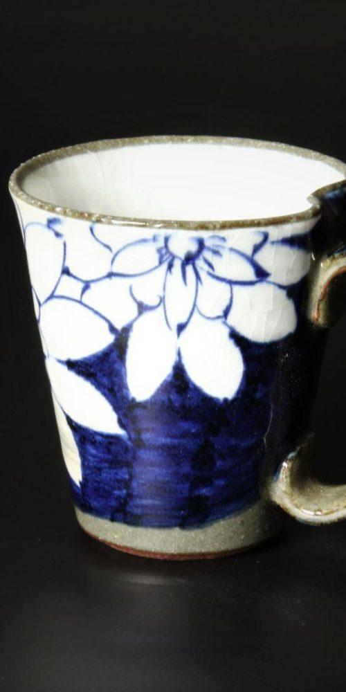 Image of Arita-ware_cup_Kohiki_Blue