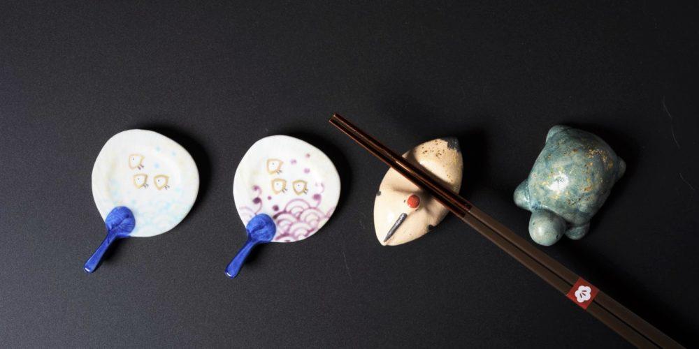 Image of kiyomizu-ware_Chopstick rest